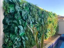 Jardim vertical - muro inglês