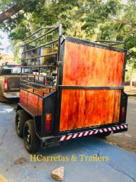 Trailer cavalos carreta trailer