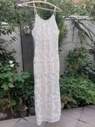 Vestido Festa Off White