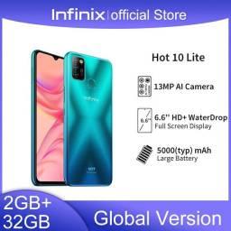 "Infinix Hot 10 Lite 32gb 2gm ram 6.6"""