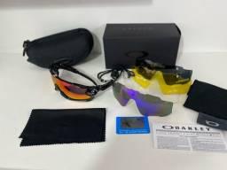 Óculos  jawbreaker 5 lentes c/ proteção uv 400.
