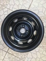 Jogo de rodas de ferro original CELTA