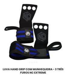 Luva Hand Grip com Munhequeira NC Extreme