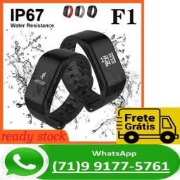 Relógio Smartwatch Smartband F1 Pro Ip67 Yoho Pulseira Cores (NOVO)