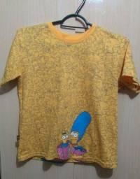 Camiseta Unissex Simpsons Tam: 8