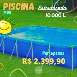 PROMOÇÃO DE PISCINAS RETANGULARES, PEÇA A SUA AGORA!