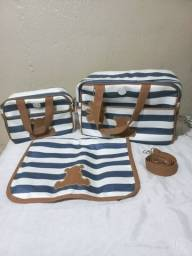 Bolsas e  trocador