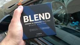 Cera de Carnaúba e Cerâmica Para Carros Pretos Blend Black 100ml Vonixx