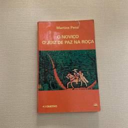 Livro O Noviço, O Juiz De Paz Na Roça, Martins Pena