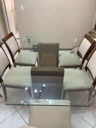 Conjunto de Sala Mesa e Cadeiras