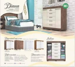 Título do anúncio: Comoda Sapateira Diana (Com Chave) - Apenas R$599,00
