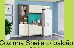 Cozinha c/ balcão /cozinha c/ balcão Sheila