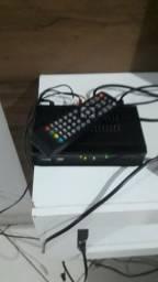 Conversor digital com controle e cabo rca