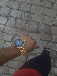 Relógio invicta curinga dorado e preto