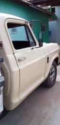 caminhonete c10 a diesel carroceria de madeira