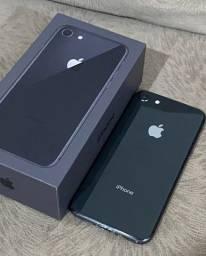 iPhone 8 64gb com caixa e nota fiscal