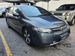 Honda Civic LXS 1.8, Automatico, Bancos de Couro, Completo
