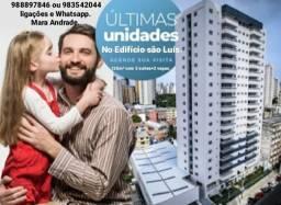 Últimas unidades no Edifício são Luís. Venha morar próximo a praça Batista Campos.