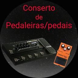 Conserto de pedaleiras e pedais