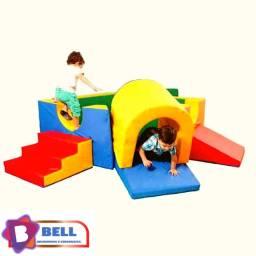 Playground Espumado/ Circuito Baby/ Túnel