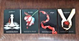 Coleção Saga Crepúsculo - 4 Livros - Stephenie Meyer