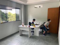 Mesa Escrivaninha de canto para escritório