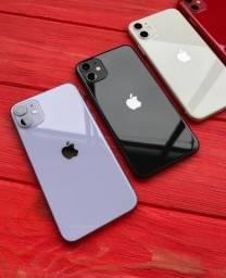 iPhone 11 128GB Preto, Novo Lacrado 18x R$281.