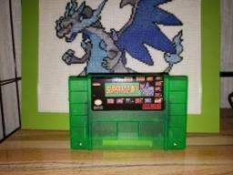 Fita de super Nintendo com 100 jogos