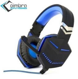 Fone Ouvido Headset Gamer Para Ps4 X-one Kp-433 - Knup - Loja Coimbra
