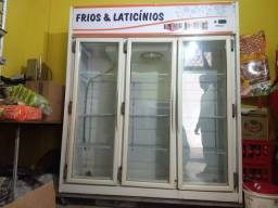 Freezer (expositor Vertical) Friluz Rf-022, Gelo Seco