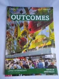 Livros Outcomes - Upper Intermediate student's book + workbook + 2cds