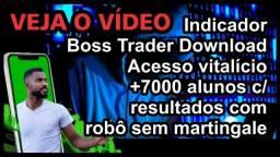 Indicador Boss Trader Download | Acesso vitalício +7000 alunos
