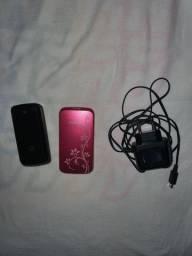 Telefones GSM Antigos (Motorola e Samsung)