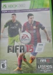 Jogo Futebol Fifa 2015 Xbox360 Seminovo