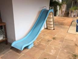 Escorregador e Escada para Piscina