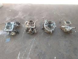 Carburadores lote ou separados Ford álcool e gasolina, VW 1.8 gasolina e Fiat gasolina