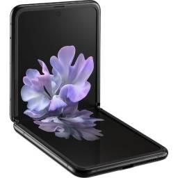 Título do anúncio: Smartphone Samsung Galaxy Z Flip 256gb Tela 6.7'' Câmera Dupla + Selfie 10mp - Preto-Novo