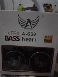 Fone de ouvido Ltomex Extra A-669