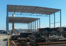 5 Barracões móveis em Aço Galvanizado COMPLETOS