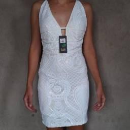Vestido branco de festa (NOVO)