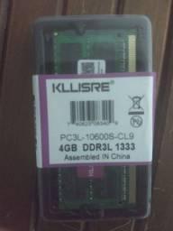 Memória RAM notebook DDR3