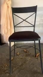 Vendo cadeira ferro