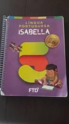 Língua Portuguesa Isabella 5° ano. Grandes autores