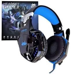 Headset Gamer KP-455A Pc, Notebook, Celular,PS4,Xbox