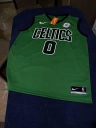 Camisa de basquete Boston Celtics M e G