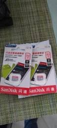 Cartão SanDisk classe 10 32gb