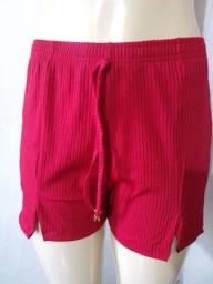 Shorts canelado