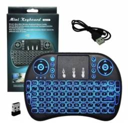 Mini Teclado Sem Fio Touchpad Keyboard Air Mouse Universal