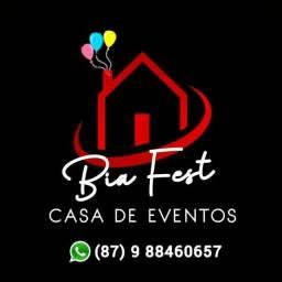 CASA DE FESTA E TEMPORADA  ESPAÇO BIA FEST