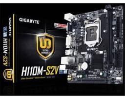 Kit Intel placa Mãe processador e memória